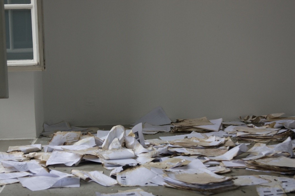 Mariam Ghani - Videostill - A Brief History of Collapses -2011-2012